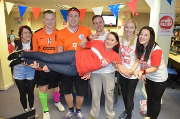 VERASTAR EMPLOYEES PLAY THEIR PART IN RECORD BREAKING SPORTS RELIEF 2016