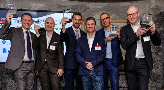 Verastar snap up the BEST TELECOMS & NETWORKS award