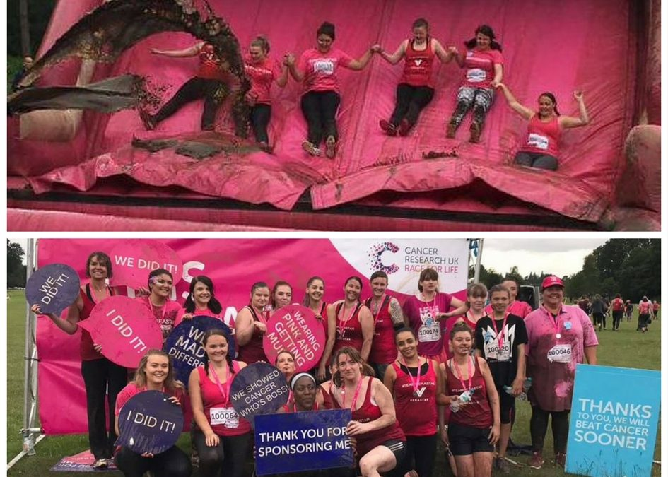 A HUGE WELL DONE TO ALL THAT DONATED FOR CANCER RESEARCH UK