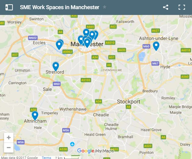 CO-WORKING SPACES IN MANCHESTER FOR SME'S