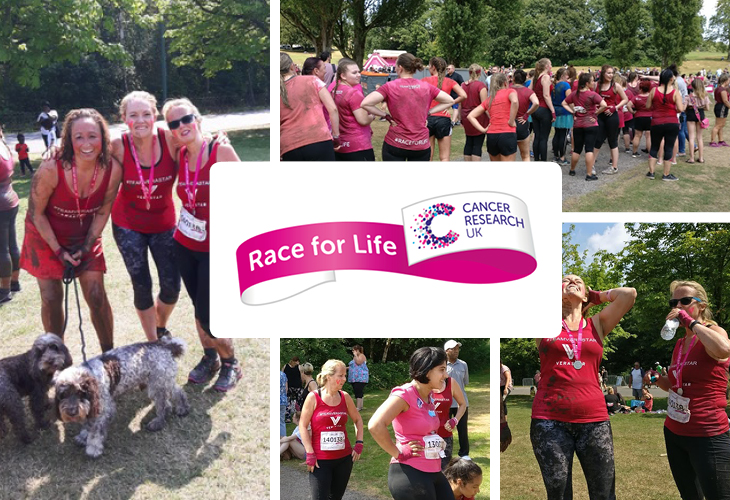 VERASTAR AT RACE FOR LIFE 2018