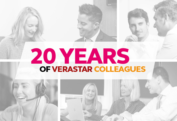 20 YEARS OF VERASTAR COLLEAGUES: PART 1