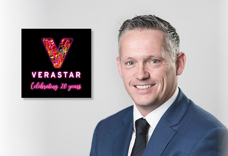 20 YEARS OF VERASTAR FROM CEO CHRIS EARLE