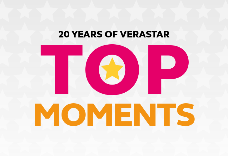 20 YEARS OF VERASTAR: TOP MOMENTS