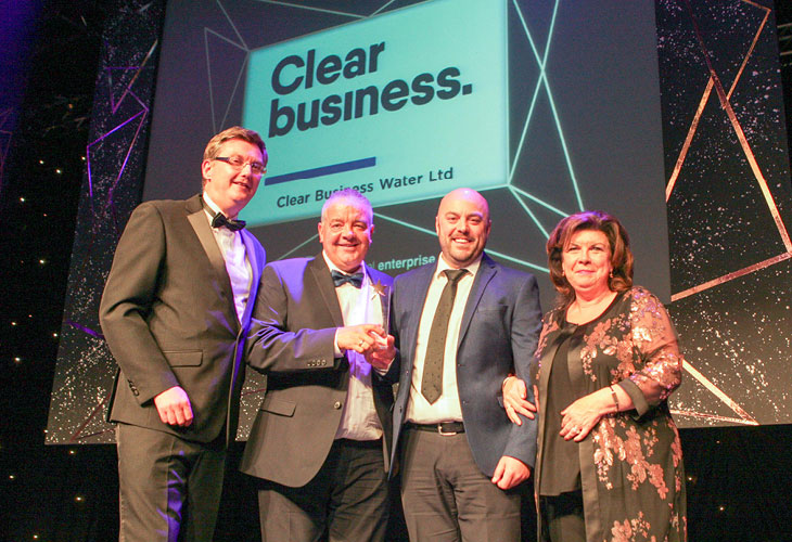 VERASTAR BRAND CLEAR BUSINESS WINS BEST BUSINESS AWARD