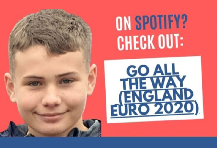 Streaming for England: Verastar colleague launches charity Euros single