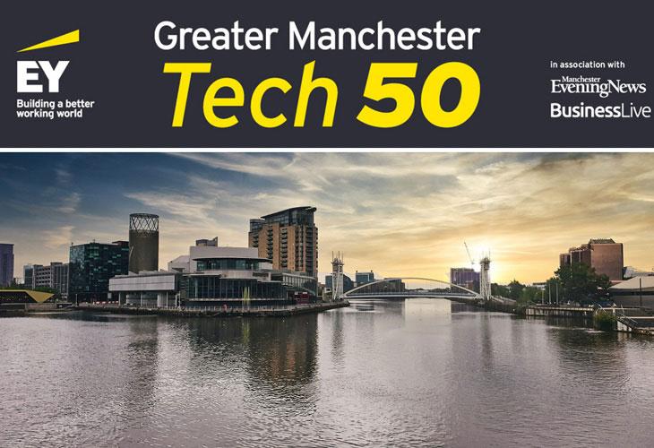 Verastar ranks fourth in Greater Manchester's Tech 50