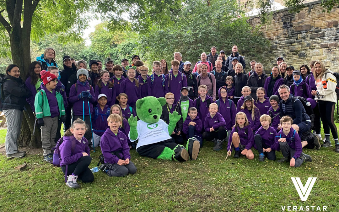 Young fundraiser passes £40,000 total with sponsored walk